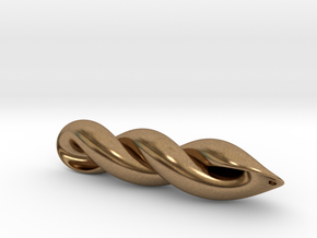mathematical embrace  in Natural Brass
