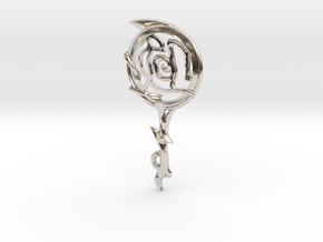 Capricorn[Constellation Magic Series] - Key Style in Rhodium Plated Brass