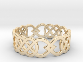 Size 10 Knot C3 in 14K Yellow Gold