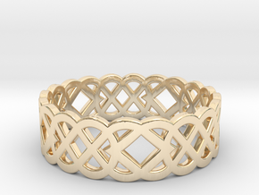 Size 7 Knot C4 in 14K Yellow Gold