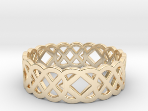 Size 8 Knot C4 in 14K Yellow Gold