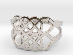 Size 6 Knot C5 in Platinum