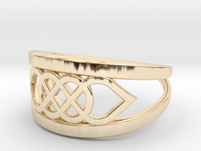 Size 6 Knot C6 in 14K Yellow Gold