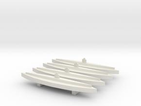I-201 (Sentaka class) (WSF) x4 in White Natural Versatile Plastic