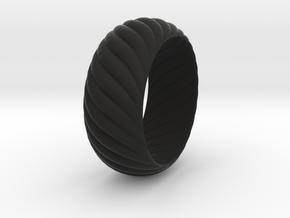 SPIRAL 1 SIZE 9.5 in Black Natural Versatile Plastic