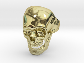 The Original Skull Ring in 18k Gold