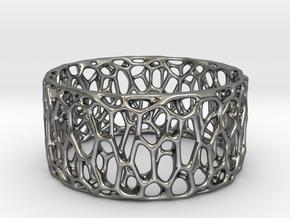 Frohr Design Easy Radiolaria Bracelet in Polished Silver