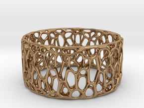 Frohr Design Easy Radiolaria Bracelet in Polished Brass