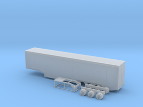 N 53' Drop Floor Trailer v1 in Smooth Fine Detail Plastic