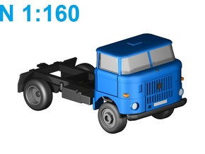 W50 4WD short basis (N,1:160) in Frosted Ultra Detail