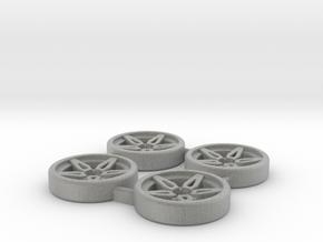 Tapacubos Lancia Stratos modelo B in Metallic Plastic
