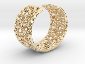 Frohr Design Radiolaria Bracelet Dec/01 in 14k Gold Plated Brass