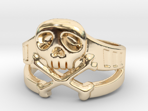 Space Captain Harlock | Ring Size 8 in 14K Yellow Gold: 8 / 56.75