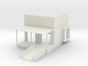 Rail Dock Combo #2 in White Natural Versatile Plastic