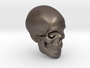 Skull Paperweight in Stainless Steel