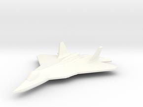PAK-FA 1/350 in White Processed Versatile Plastic