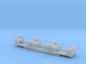 Stapleford Miniature Railway Coach in Smooth Fine Detail Plastic