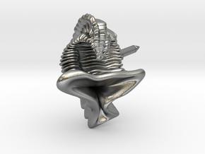 Dailyatia Lapel Pin - Science Jewelry in Natural Silver