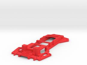 Walkera Runner 250 - Raptor 'News Van' Upper Tray in Red Processed Versatile Plastic