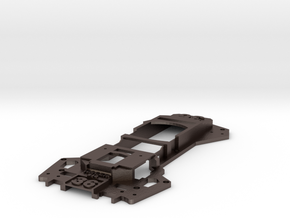 Walkera Runner 250 - Raptor 'Racing' Upper Tray in Polished Bronzed Silver Steel