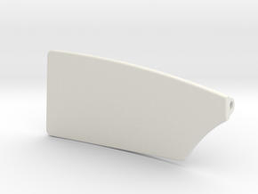 6 inch Port Rowing Blade in White Strong & Flexible