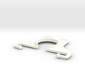 """NEODiVR PLAy 5"""" Phone RightArm with Flexi-Tips in White Processed Versatile Plastic"""