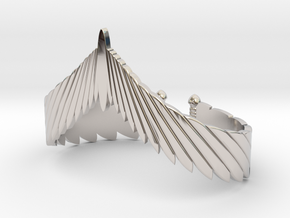 Falcon Wing Bracelet in Platinum