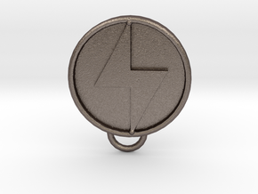 Ether Medallion in Stainless Steel
