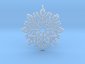 Classic Snowflake in Smooth Fine Detail Plastic