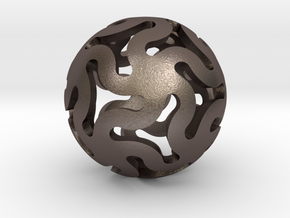 Star Ball Classic in Polished Bronzed Silver Steel