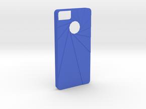 Aperture Iphone 5s Case in Blue Processed Versatile Plastic