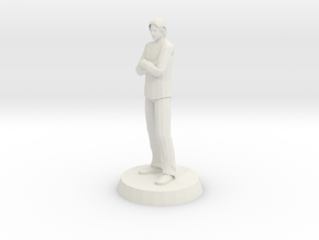 Man - Standing in White Natural Versatile Plastic