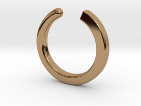 Fable - Size S in Polished Brass