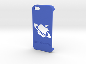Iphone 5 Case - Think Discovery in Blue Processed Versatile Plastic