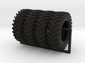 1/64 scale 20.8-38 R1 x 4 in Black Natural Versatile Plastic