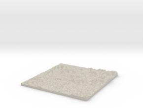 Model of Chandler Hollow in Sandstone