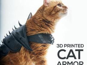 Cat Armor in White Natural Versatile Plastic