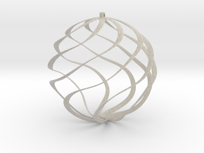 ornament for christmas tree in Natural Sandstone