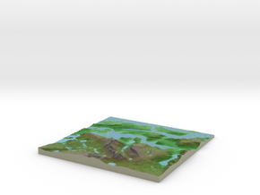 Terrafab generated model Fri Oct 23 2015 12:47:29  in Full Color Sandstone