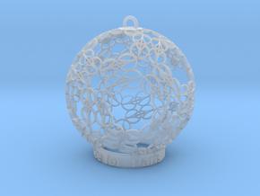 Peace for Paris Memento Ornament in Smooth Fine Detail Plastic