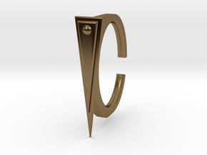 Ring 2-2 in Polished Bronze