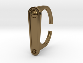 Ring 5-2 in Polished Bronze