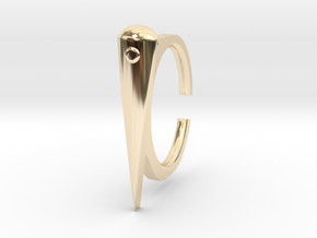 Ring 2-4 in 14k Gold Plated Brass
