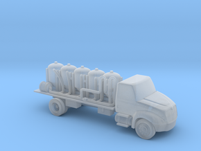 Chemical Delivery Truck - Zscale in Smooth Fine Detail Plastic