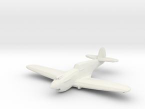 Curtiss P-40B/C 'Warhawk' WSF 1/200 x1 in White Natural Versatile Plastic