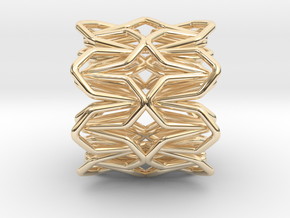 YOUNIC Fabric 360 Pendant in 14K Yellow Gold