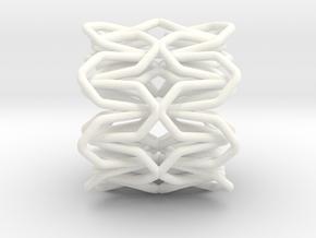 YOUNIC Fabric 360 Pendant in White Processed Versatile Plastic