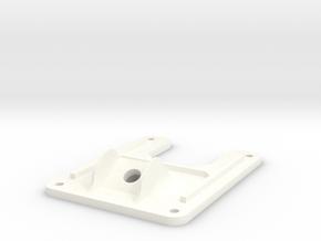 Minimalistic Emax Nighthawk 280 - Minimal Top Plat in White Processed Versatile Plastic