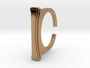 Ring 1-8 in Polished Brass
