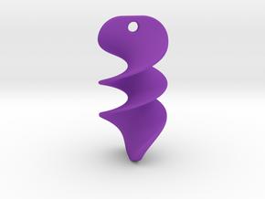 012 NECKLACE in Purple Processed Versatile Plastic